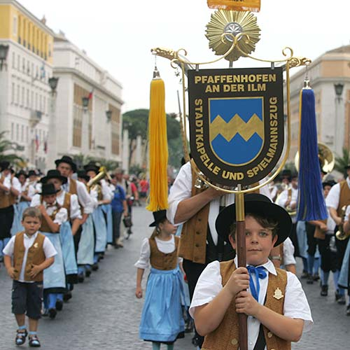 >Italy Parade in Rome & Vatican City