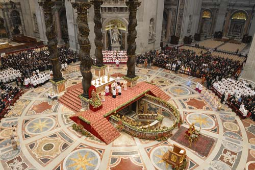 Image result for christmas vatican
