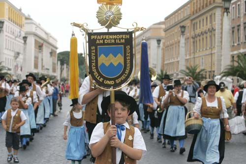 Annual Parade in Rome and Vatican City