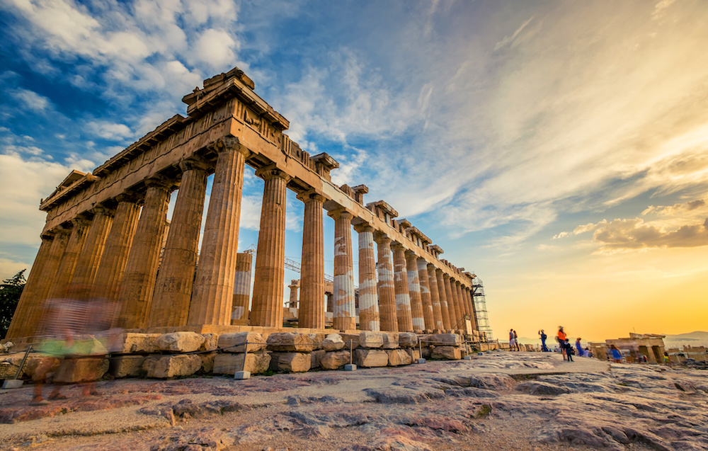 /Athens Greece Acropolis Ruins, Greece
