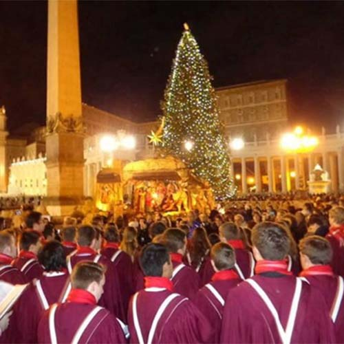 Christmas Season Festival In The Vatican