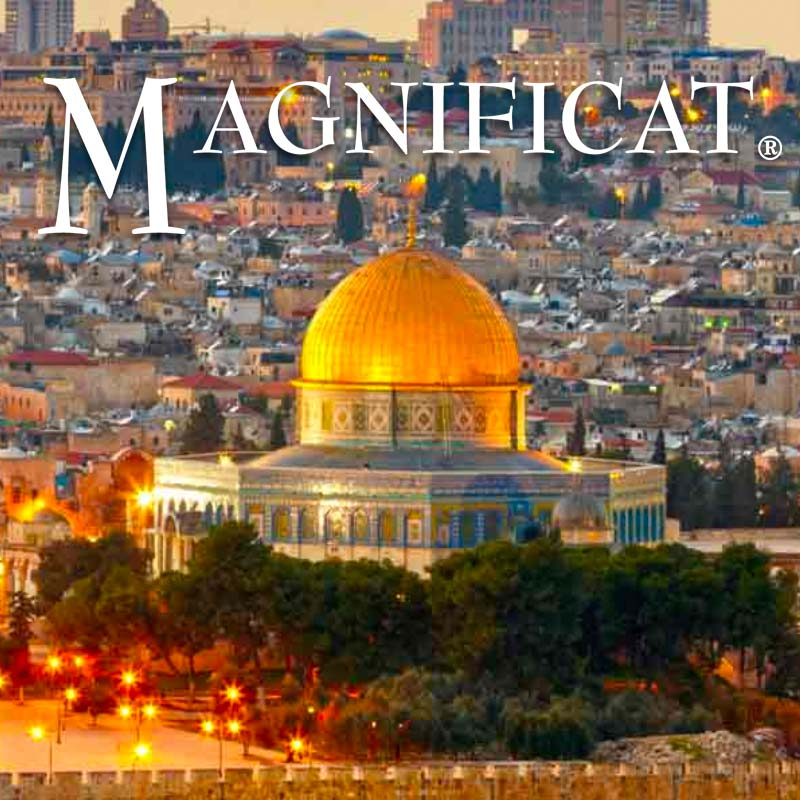 Magnificat Holy Land Pilgrimage