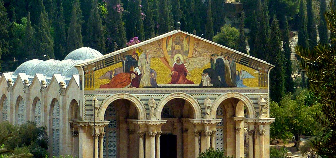 Church of all Nations, Mount of Olives, Jerusalem, Pilgrimage to the Holy Land