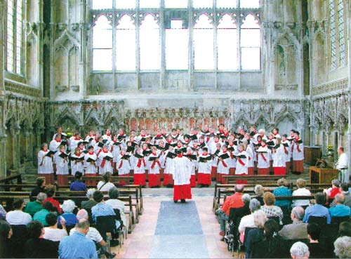 England choir